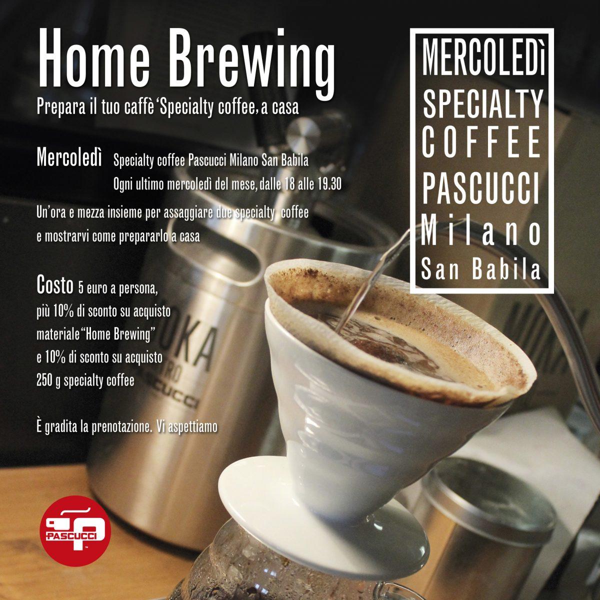 Caffè Pascucci HOME BREWING MILANO
