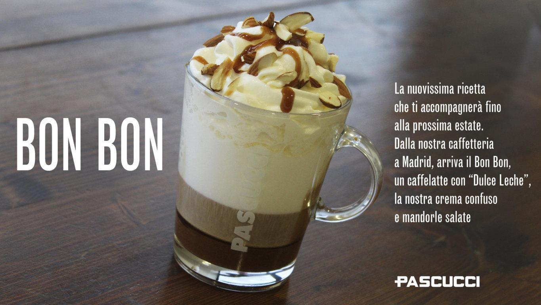 Caffè Pascucci ricetta BON BON da monitor italiano