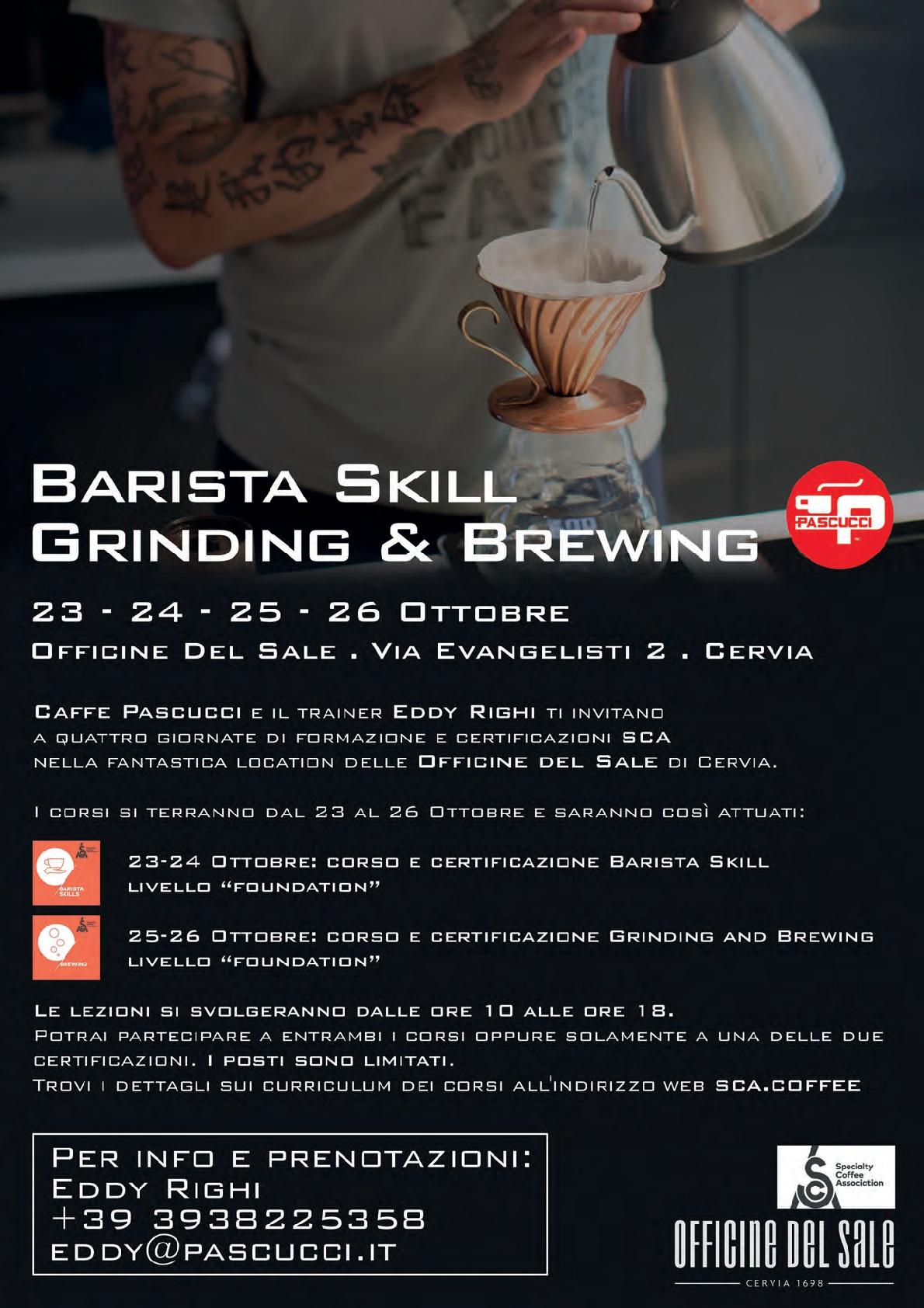 Locandina corso SCA Cervia 23-26 ottobre 2017