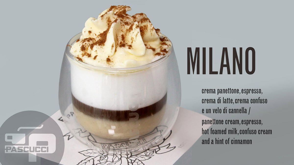 Caffè Pascucci ricetta Milano