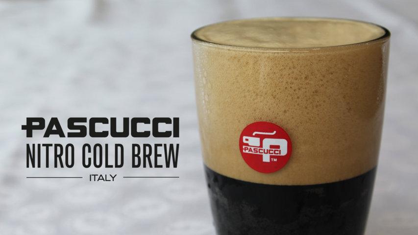 NITRO COLD BREW vetro 1920 x 1080 Caffè Pascucci